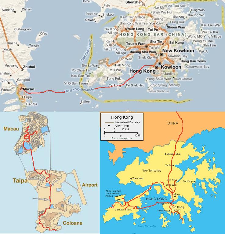 Hong kong macau wieviel farben hat die welt hong kong macau route gumiabroncs Image collections