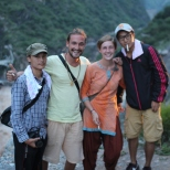 Friends at Tiger Leaping Gorge