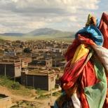 Litang tibetan town