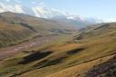 The Pamir mountains