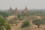 Bagan pagoda area