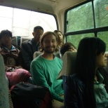 Bus ride in China