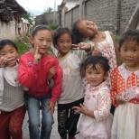 Girls in Xiangcheng