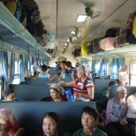 On the Uyghur train