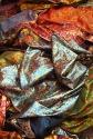 Fabrics on Sunday market