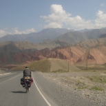 Philipp cycling Kyrgyzstan