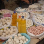 Kurud (typical kyrgyzs hard cheese balls)