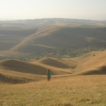 Soft kyrgyzs hills