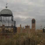 Cemetery in Baetov