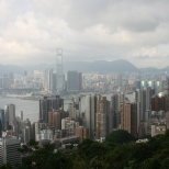 Kowloon & HK Island from the Peak