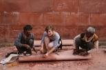 Helping repair the Taj