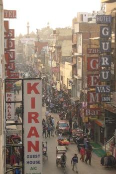Pahar Ganj in Delhi
