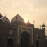 Taj Mahal rising