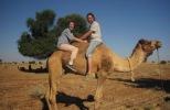 Camel trip in the Thar desert