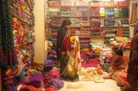In the Saree shop