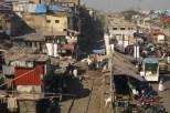 At the tracks, Mumbai