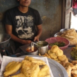 The samosa man