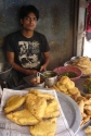 The samosa man