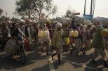 Pilgrims in Allahabad