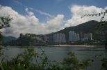 Island city Hong Kong