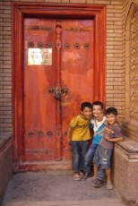 Uyghur boys