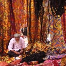 Fabric seller