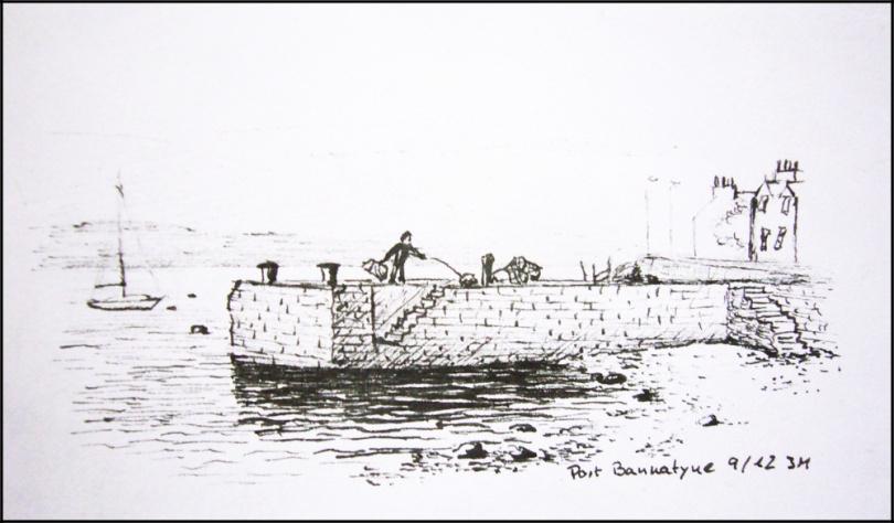 Port Bannatyne, quay