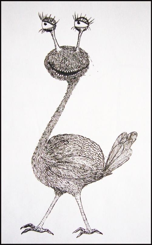The weird bird