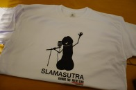 "Grafik- und T-Shirt-Design ""Slamasutra"" Erotik-Slam, Landesmeisterschaften Poetry Slam, Oldenburg 2016"
