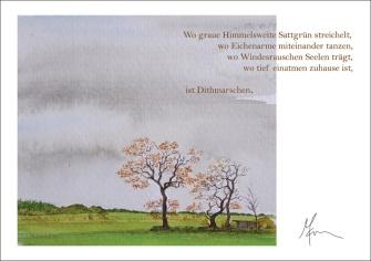 """Dithmarschen"" - Postcard"
