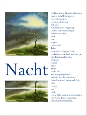 Poster of a poem