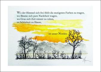 """Unser Norden"" Postcard"