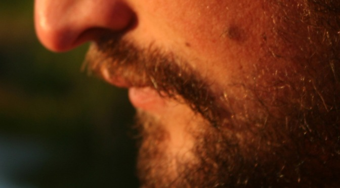 Beards with men – a victim`s view on facial hair