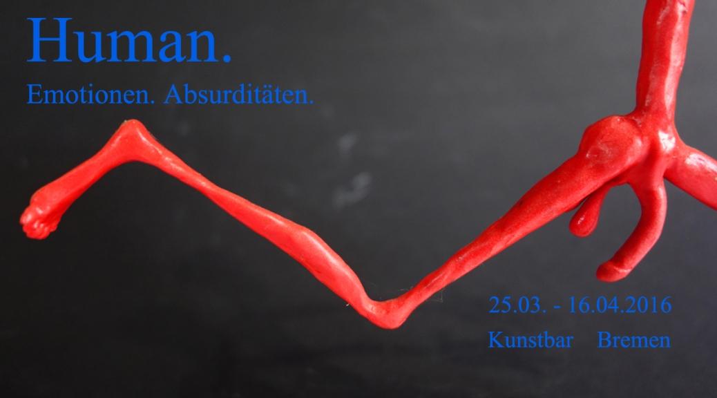 Ausstellung Human. Emotionen. Absurditäten. Janina Mau