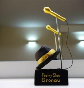 "Trophäe ""Poetry Slam Gronau"""