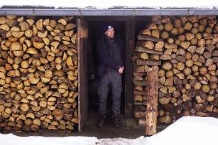 Heaven-sent: Ein Holzschuppen als Unterschlupf!