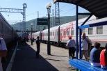 Transsib - Ankunft in Sljudjanka