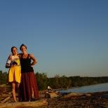 Veronika und ich, Akademgorodok, Novosibirsk