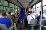 Im Bus, Novosibirsk