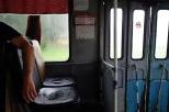 Busfahrt im Regen, Novosibirsk