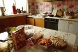 Walodias Küche, Utulik, Baikalsee