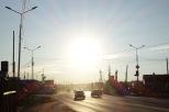Besondres Licht, Jakutsk, Republik Sacha (Jakutien)