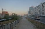 Unter Dunst, Jakutsk, Republik Sacha (Jakutien)