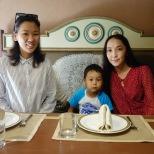 Mascha, Aina und ihr Neffe