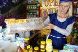 Honig aus verschiedenen Gegenden Sibiriens