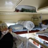 Zugfahrt: Schlafkabine 3.Klasse