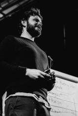 Florian Stein gewinnt beim 13. Gronauer Poetry Slam