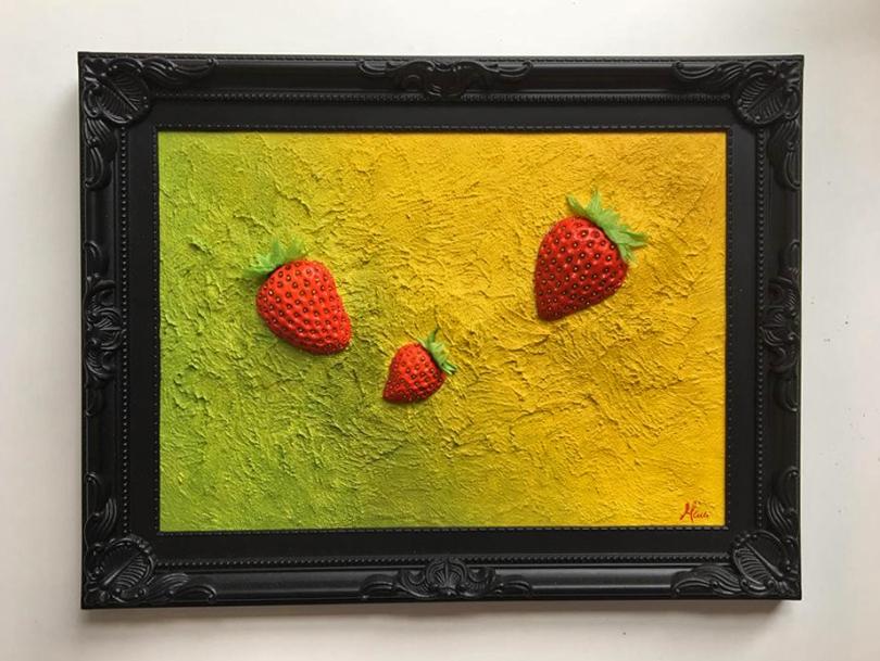 """""""It was strawberries"""" - Hochzeitsgeschenk"""